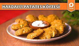 Sebze Severlerin Favorisi! Hardallı Patates Köftesi Nasıl Yapılır?