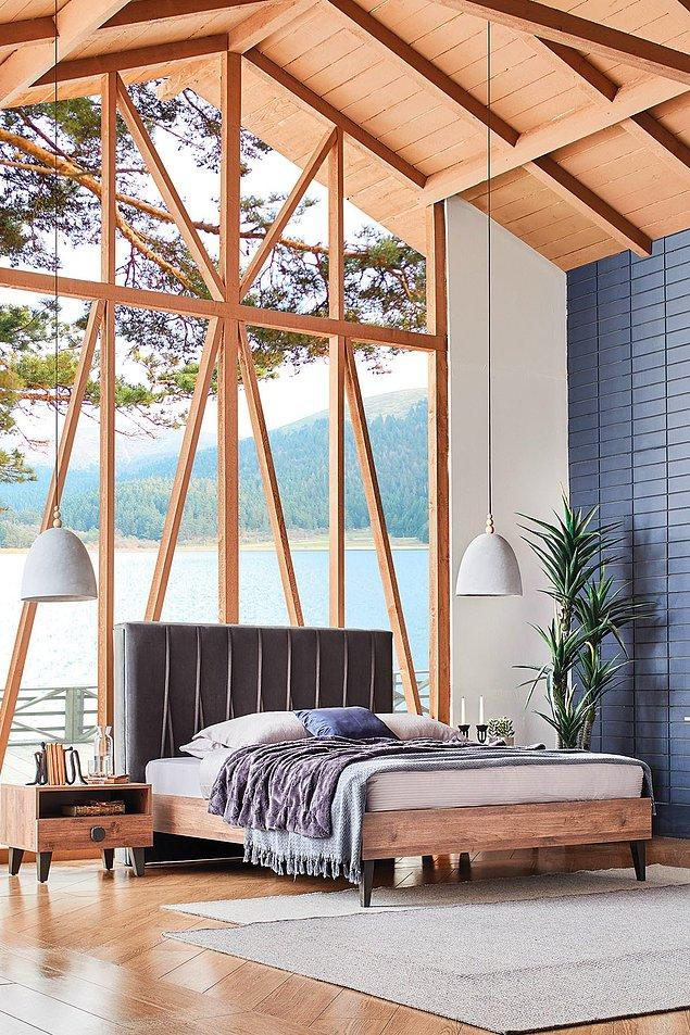 5. Eğer baza tercih etmiyorsan yatak odasının en önemli parçası tabii ki karyola...