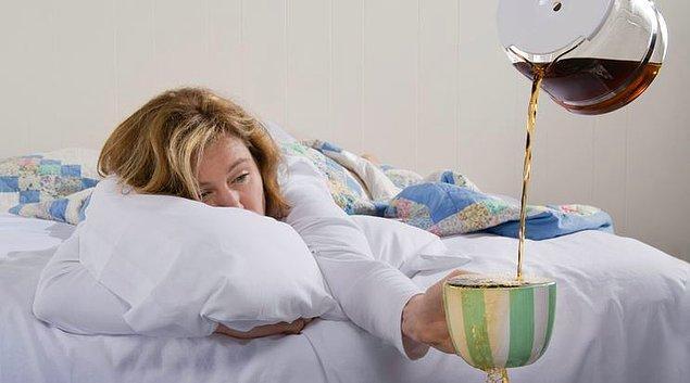 4. Peki sen kahve içmeden güne başlayabilir misin?