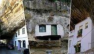 İspanya Dağlarında, Devasa Büyüklükte Bir Kayanın Altına Kurulmuş Kasabadan 20 Sıradışı Görüntü
