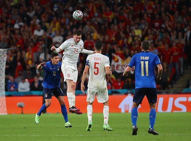 EURO 2020'de ilk finalist Avrupa'nın iki önemli futbol ekolü İspanya ile İtalya arasında oynanan maçla belli oldu.