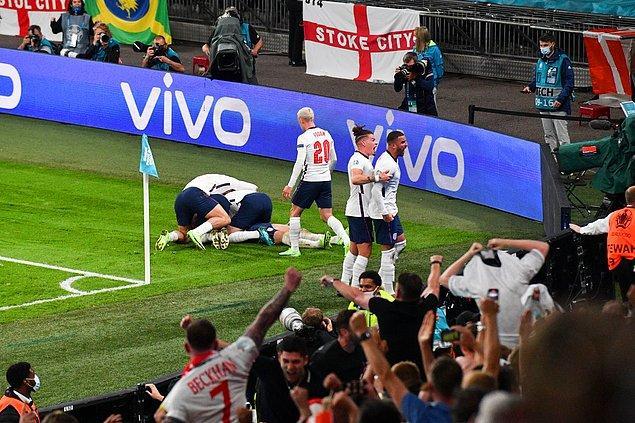Wembley Stadı'nda oynanan maçın normal süresi 1-1'lik eşitlikle sona erdi.