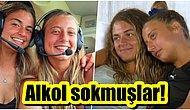 Ceza Almışlardı... Aleyna Kalaycıoğlu ve Aleyna Çalışkan'ın Adaya Dışarıdan Alkol Soktukları Ortaya Çıktı!