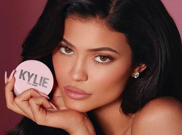 2. Kylie Jenner- Kylie Cosmetics