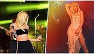 Konserlere Tam Gaz Devam Eden Gülşen, Sahnede Giydiği Transparan Kıyafetle Ortalığı Yangın Yerine Çevirdi🔥