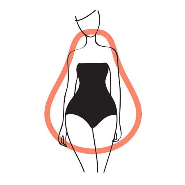 2. Armut vücut tipine sahipseniz yani kalçalarınız, vücudunuzun üst kısmınıza oranla daha genişse, dikkati bedeninizin üst kısmına çekmeniz doğru olacaktır.