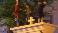 Kadıköy'deki Surp Takavor Kilisesi'nin Kapısı Üzerinde Yapılan Dans Tepkilere Neden Oldu