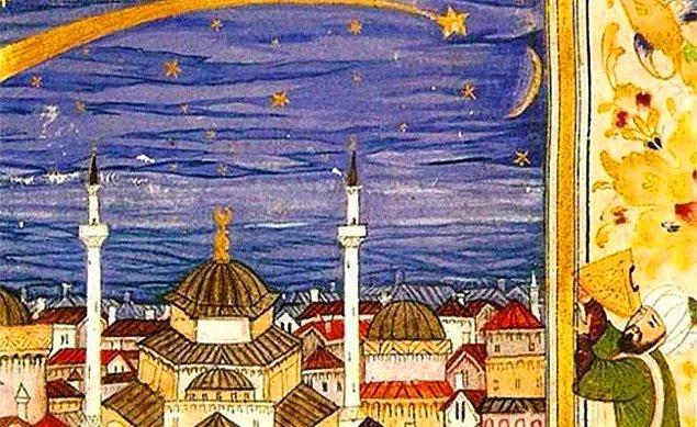 Osmanlı'da da kabul edilen astrolojiye göre evren belli bölümlere ayırılmıştı.