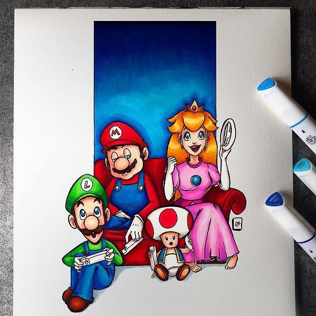 4. Mario Kart