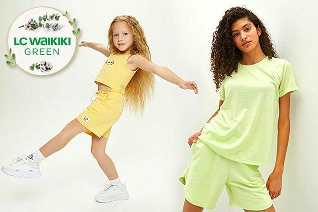 LC Waikiki Green ile hem doğa hem moda kazanıyor! Çevre dostu, insan sağlığını dikkate alan, sürdürülebilir yaşam anlayışını benimseyen LC Waikiki Green ürünleri ile siz de doğaya katkı sağlayabilirsiniz.