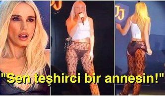 Gülşen'in İç Çamaşırlı Transparan Sahne Kıyafetine Anneliği Üzerinden Yapılan Korkunç Eleştiriler