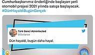 AKP'nin 2018 Yılında Paylaştığı 'Yerli Otomobil 2021'de Yollarda' Tweeti Gündemde