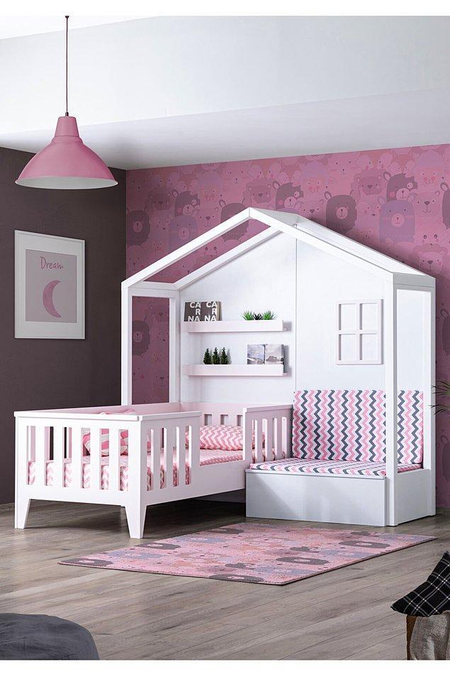 12. Şirin mi şirin bir çocuk odası...