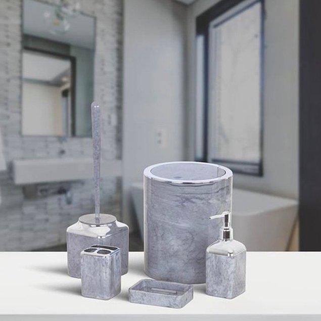 1. Çok işlevli banyo setleri.