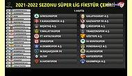 Süper Lig Fikstürü Çekildi! İşte Derbi Haftaları ve İlk Yarının Fikstürü