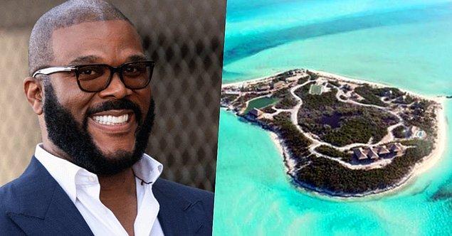 15. Amerikalı oyuncu ve film yapımcısı Tyler Perry'nin de Bahamalar'da White Bay Cay isimli şahane bir adası var.