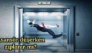 Hayat Kurtarıcı Soru: Düşen Asansörde Zıplamak İşe Yarar mı?