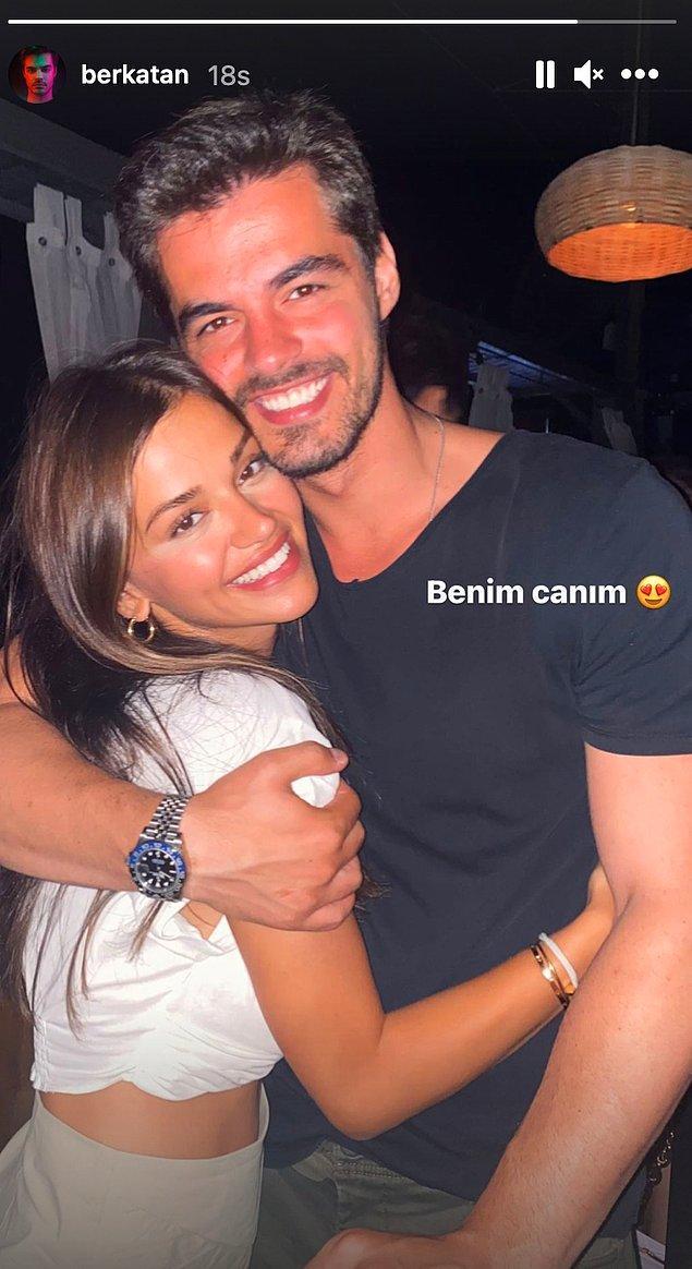 13. Berk Atan, sosyal medya hesabında sevgilisiyle ilk fotoğrafını paylaştı!