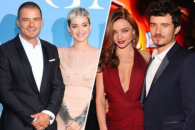 7. Katy Perry, nişanlısı Orlando Bloom'un eski eşi Miranda Kerr ile bir paylaşım yaptı.