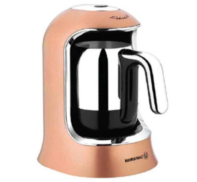 1. Yeni evlerin demirbaşı kahve makinesi!