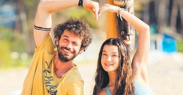 10. Pınar Deniz'le Yiğit Kirazcı'nın aşkı sosyal medyada ortaya çıktı.