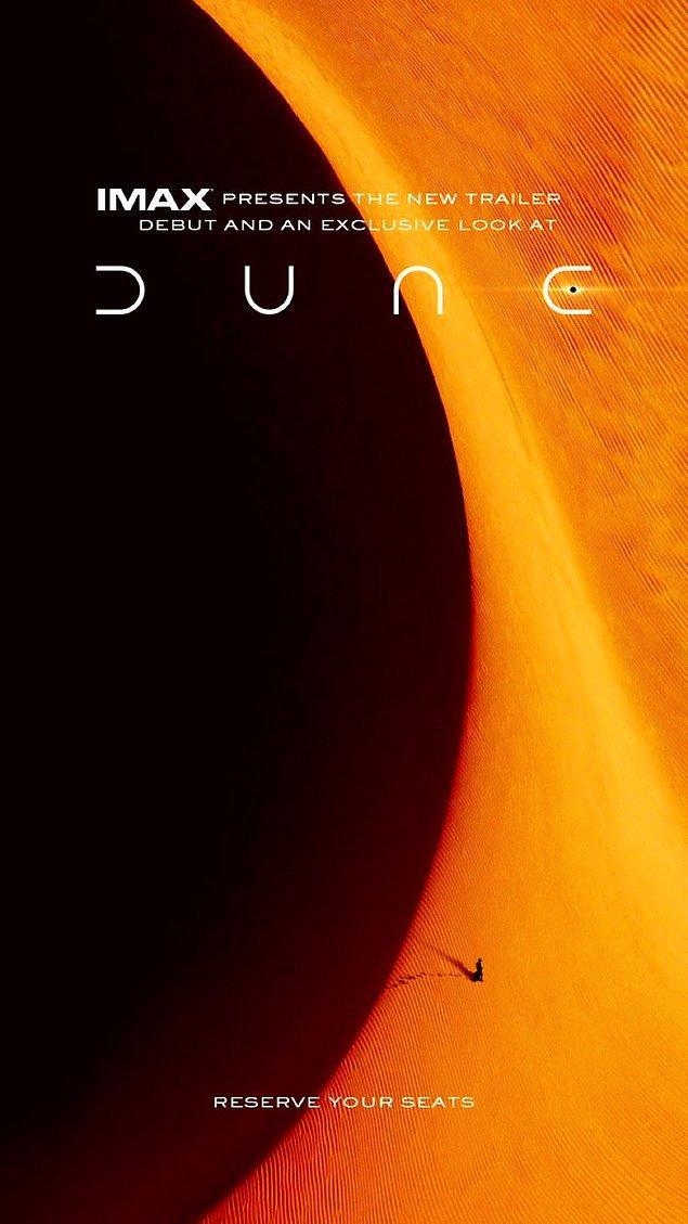 1. Dune'dan yeni bir poster yayınlandı.