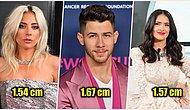 Size 'Televizyonda Daha Uzun Görünüyordu Sanki' Dedirtecek Gerçek Boylarıyla İnsanları Şok Eden 26 Ünlü