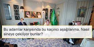 Çavuşoğlu Suudi Mevkidaşı ile Görüştü; Sosyal Medya Sordu: 'Türk Bayrağı Neden Yok?'