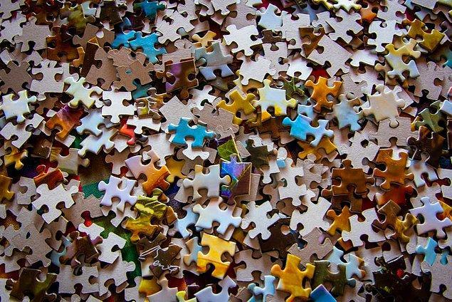 11. 1500 veya 5000 parçalık puzzle yapmak