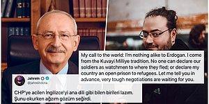 Kemal Kılıçdaroğlu'nun Attığı İngilizce Tweete Ünlü Twitch Yayıncısı Jahrein'den Sert Bir Eleştiri Geldi!