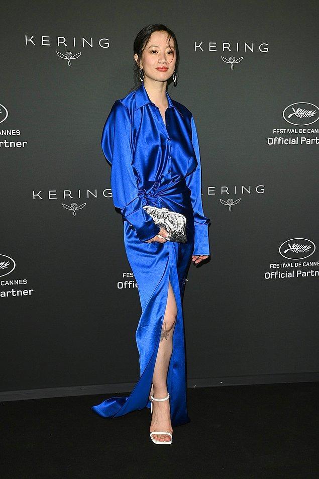 20. Meng Li'nin Balenciaga elbisesi festivalin en iyi elbiseleri arasına adını yazdırdı.