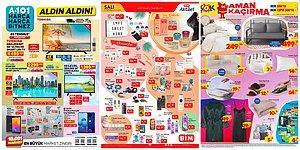 İndirim Günleri Başlıyor: 19 - 25 Temmuz Haftasında A101, BİM ve ŞOK Aktüel Ürünler Listesinde Neler Var?