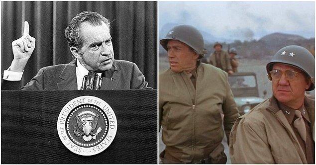 27. Richard Nixon - Patton (1970)