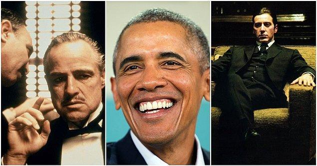 23. Barack Obama - The Godfather I (1972) ve The Godfather II (1974)