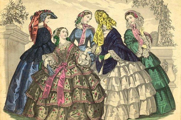 1800'lerin ortasında ortaya çıkan ve giderek daha da kabarıklaşan eteklerin sorumlusu olan tarlatanın ortaya çıkış sebebi oldukça üzücü.