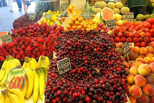 Şili'ye giderken yanınıza yaş meyve almayın!