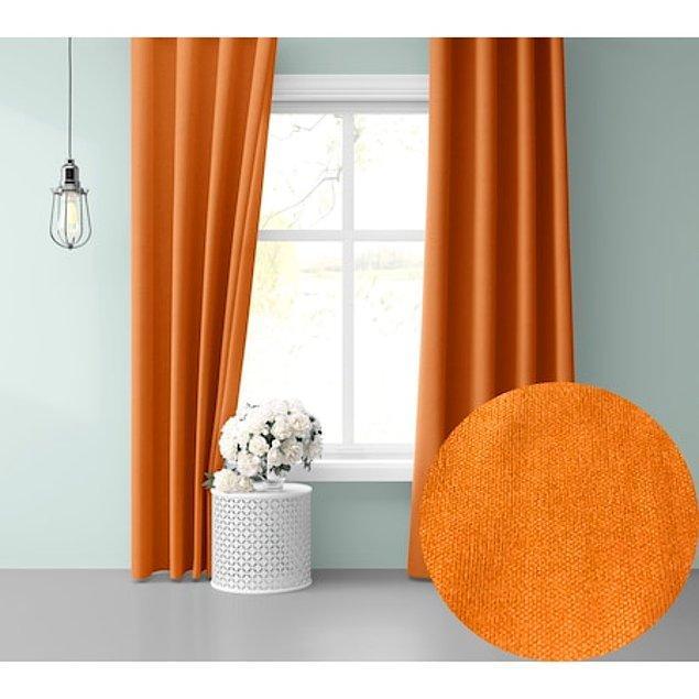 8. Renklerin kıpır kıpır enerjisini evinize yansıtmak için renkli perde kullanmaya başlamanız gerektiğini hatırlatmak isteriz.