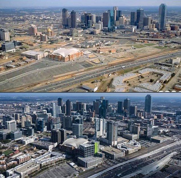 9. Dallas, Teksas 2001- 2021: