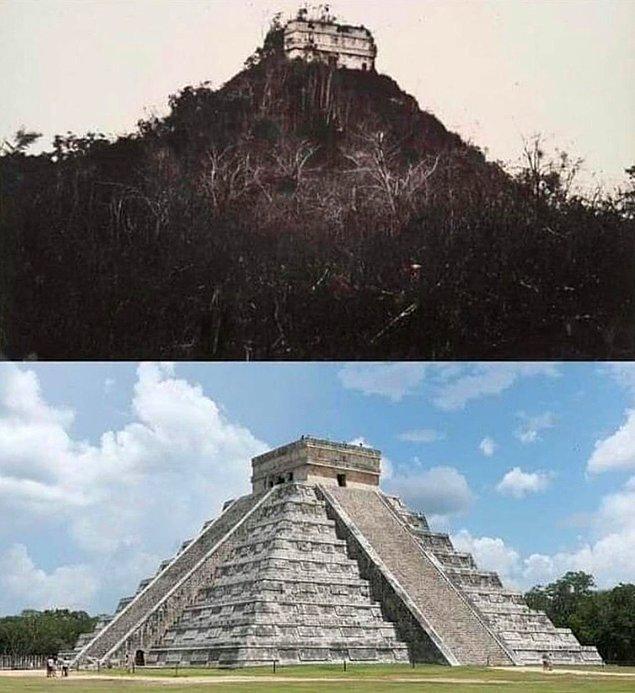 12. Chichén Itzá 1892 ve günümüz: