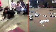 Çin'den 12 Kişinin Hayatını Kaybettiği Sel Felaketinden Çarpıcı Görüntüler