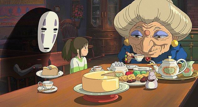 Buna göre tüm dünyada en çok aranan ve sevilen Ghibli filmi Hayao Miyazaki'nin çektiği Spirited Away.