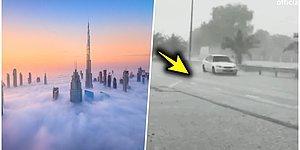 50 Derece Hava Sıcaklığını Gören Dubai Bulutlara Elektrik Vererek Kendi Yapay Yağmurunu Üretti!