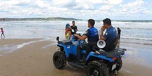 Denize Girmenin Yasaklandığı Şile'de Bir Cankurtaran Bıçaklandı