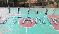 Bingöl'de Çocuklar Çöpleri Toplayıp, Parka 'Utanın' Yazdı