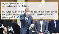 Sel Felaketinin Yaşandığı Rize'de Çay Dağıtan Erdoğan'a Muhalefetten Tepki: 'Akıl Tutulması'