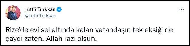 İYİ Partili Türkkan'ın tweeti 👇
