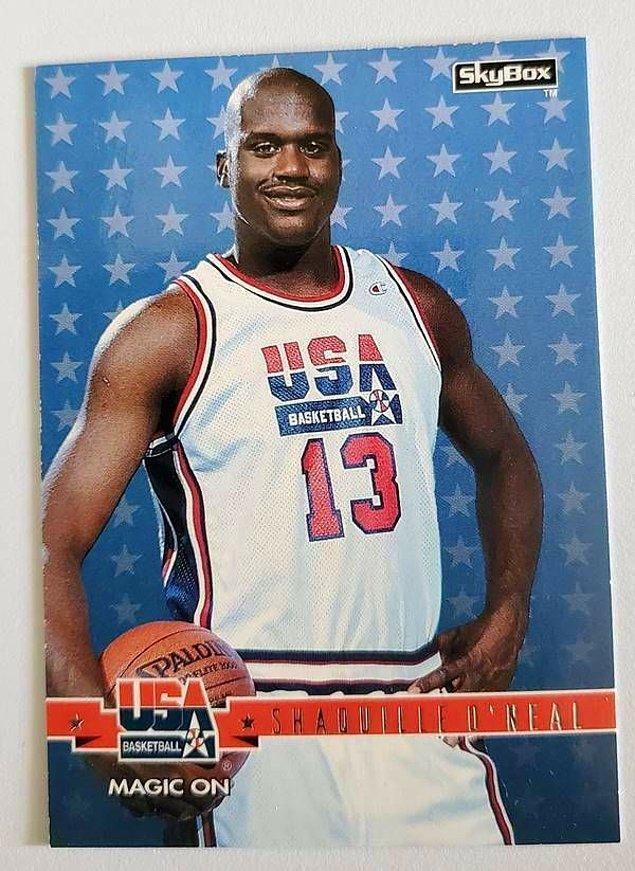 10. 1996 Olimpiyat Oyunları'nda Amerika Birleşik Devletleri Basketbol Takımı'nda yer alan Shaquille O'Neal de altın madalyanın ülkesine gitmesini sağladı.