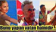 Oryantal Didem'in Şovunda Kafasını Çeviren Bülent Serttaş'ın 'Çıplak Kadınlarla' Çektiği Klibi Sansürlendi!