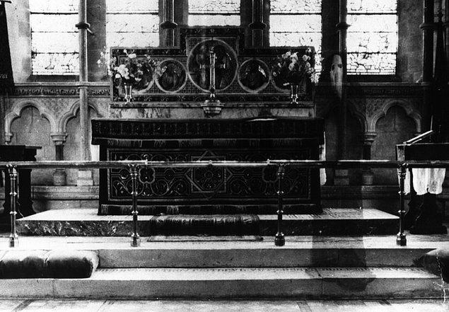 13. Bu garip görüntü ise Rev. Kenneth Lord tarafından çekilen bir fotoğrafta ortaya çıktı.