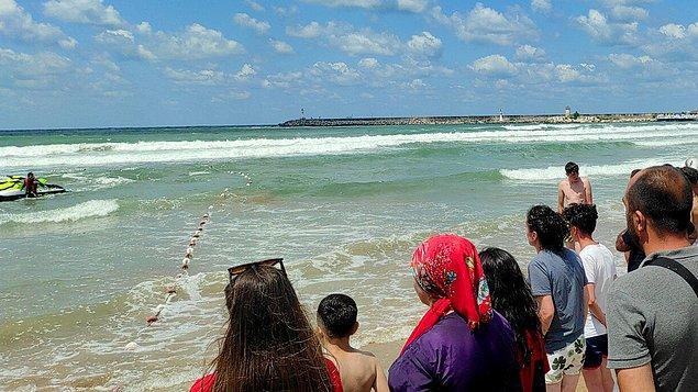 Şile sahillerinde son 3 günde 5 kişi boğularak hayatını kaybetmişti.